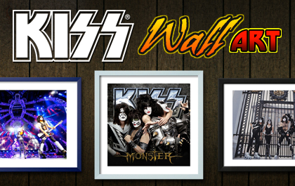 KISS Wall Art